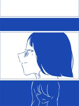 ろぉず百合漫画